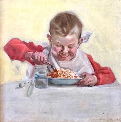 Cushman Parker, 'Beech-Nut Spaghetti Advertisement featured in the Saturday Evening Post', 20th Century