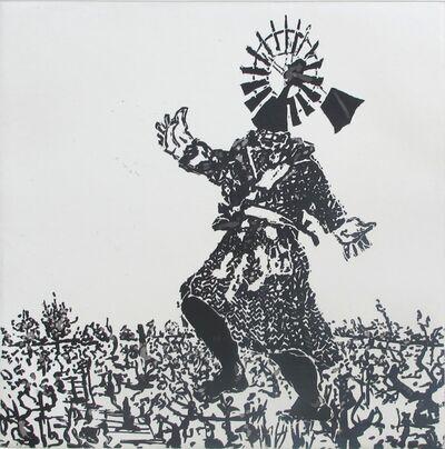 William Kentridge, 'West Coast Series (Set of 5 Prints), Scarecrow ', 2010