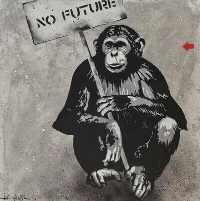 Jef Aérosol, 'NO FUTURE', 2013