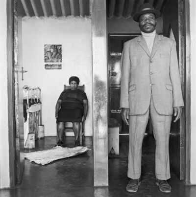 David Goldblatt, 'George and Sarah Manyane, 3153 Emdeni Extension', August 1972