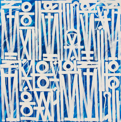 RETNA, 'Buy Some Off Shore Company Off Shore (Triptych)', 2016