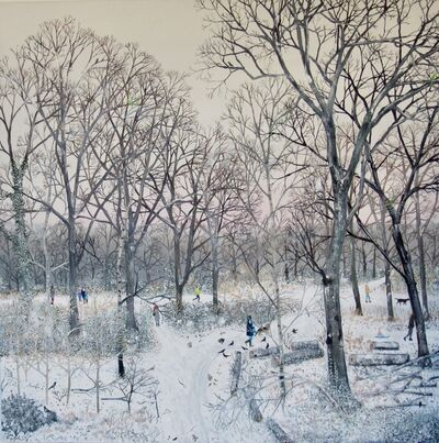 Emma Haworth, 'Winter Snow I', 2018