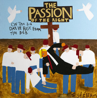 Esteban Whiteside, 'The Passion of the Right', 2020