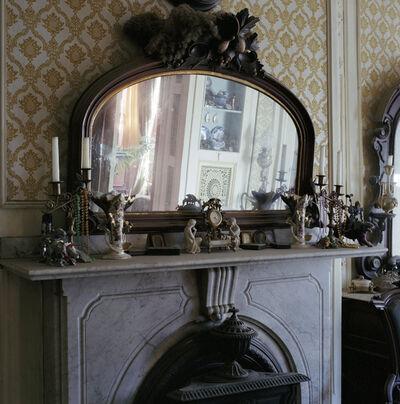 Shellburne Thurber, '9 Wellington Street: Ralph's bedroom - carved wood mantel mirror', 2004