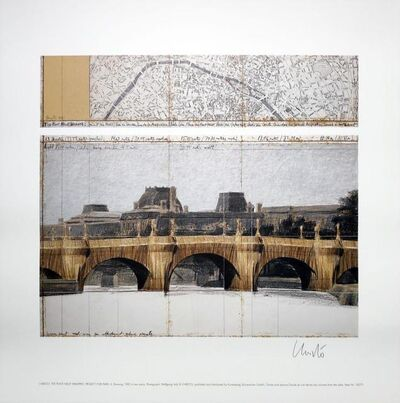 Christo and Jeanne-Claude, 'The Pont Neuf Wrapped'', 1985