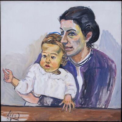 Alice Neel, 'NANCY AND OLIVIA ', 1968