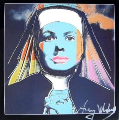 Andy Warhol, 'Ingrid Bergman as Nun', 1983