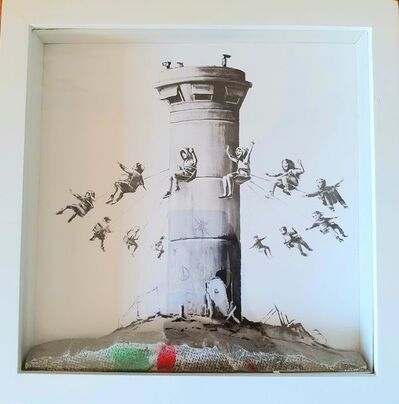 """Banksy, '""""Box Set"""" By the Walled Off Hotel', 2018"""