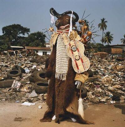 Phyllis Galembo, 'Water Buffalo Devil, Red Indians, Sierra Leone', 2008