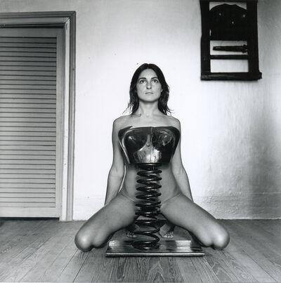Liliana Maresca, 'S/T. Serie Liliana Maresca con su obra', 1983