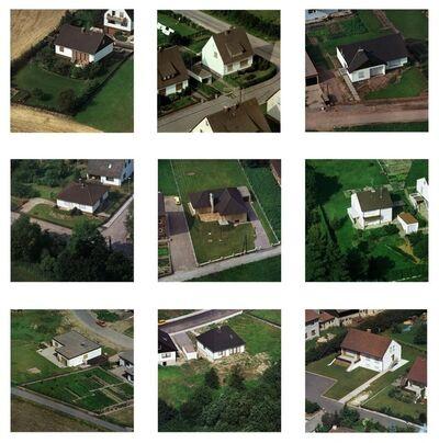 Peter Piller, 'Schlafende Häuser 1 / Sleeping Houses 1', 2002-2004