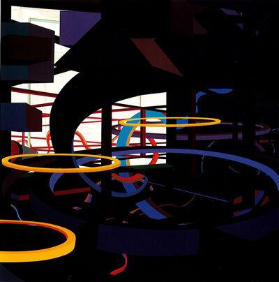 Al Held, 'VORCEX VI', 1987