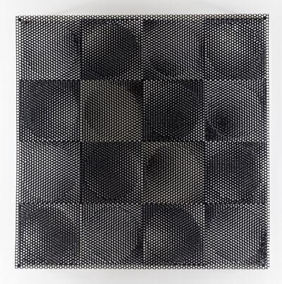 Antonio Asis, '8 círculos blancos, 8 círculos negros', 1969