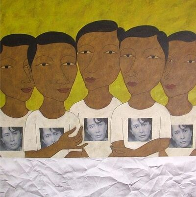 Min Zaw, 'Ordinary People 4', 2012