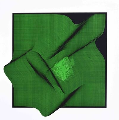 Roberto lucchetta, 'Composition (green)', 2018