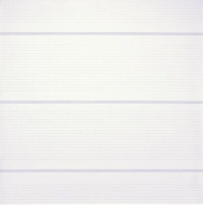 Agnes Martin, 'Untitled #15', 1988