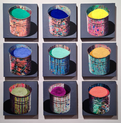 Stéphane Braud, 'Breathing Colours (Set of 9) ', 2020