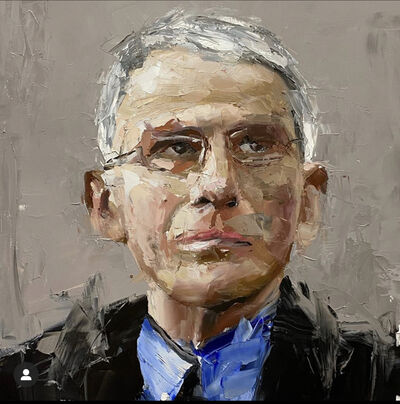 Brad Robson, 'Homage to Dr. Anthony Fauci', ca. 2020
