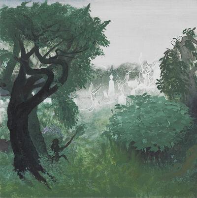 Inka Essenhigh, 'Forgotten Cemetery', 2016