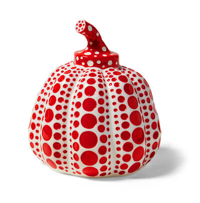 Yayoi Kusama, 'Kusama Pumpkin Red and White', 2015