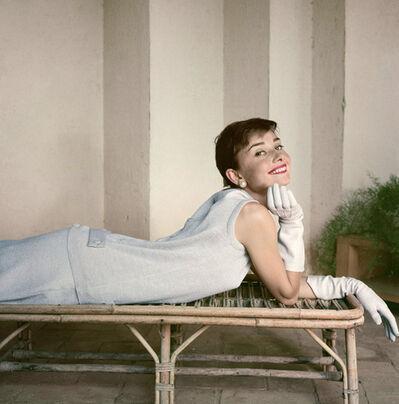 Norman Parkinson, 'Audrey Hepburn, Italy 1955', 1955