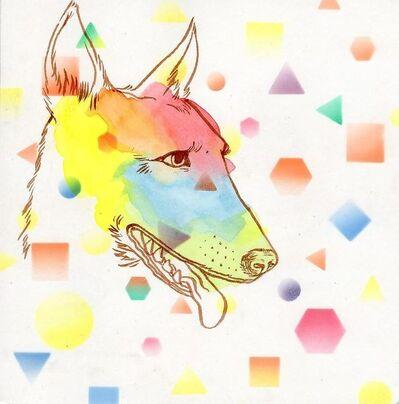 Okay Mountain, '7x7 Collaborative Drawing (#176)', 2012
