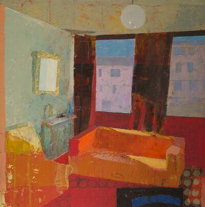 Chris Liberti, 'Airbnb Orange Couch', 2019
