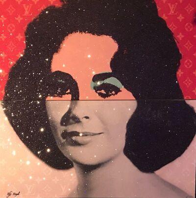 Kfir Moyal, 'Liz Taylor Warhol mix ', 2018