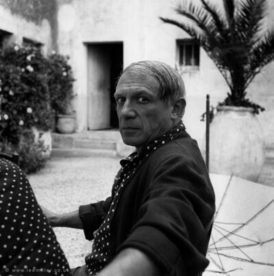 Lee Miller, 'Picasso, Hotel vaste Horizon, Mougins, france', 1937