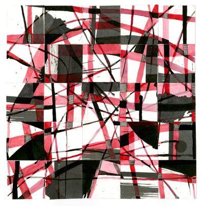 Sarah Slavick, 'Red, Black, White movement', 2012