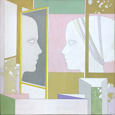 Héctor Poleo, 'Monologue face au miroir', 1981