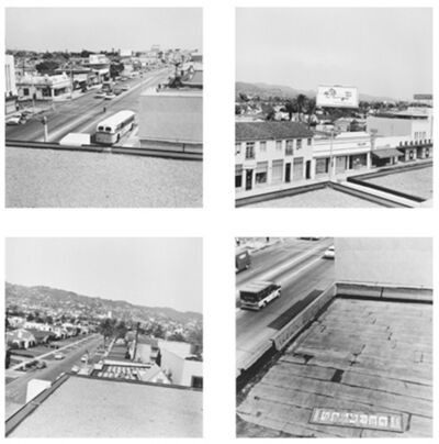 Ed Ruscha, 'Rooftops', 1961-2004