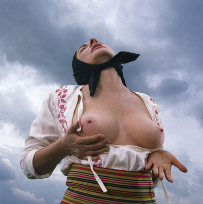 Marina Abramović, 'Woman Massaging Breast II (from the Balkan Erotic Epic Series)', 2005