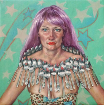 Roxana Halls, 'Queen of Spoons', 2015