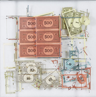 Yuken Teruya, 'Disassembled money', 2019