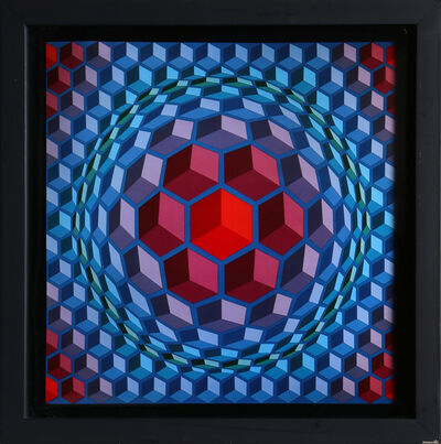 Victor Vasarely, 'Untitled 8 from Progressions', 1973