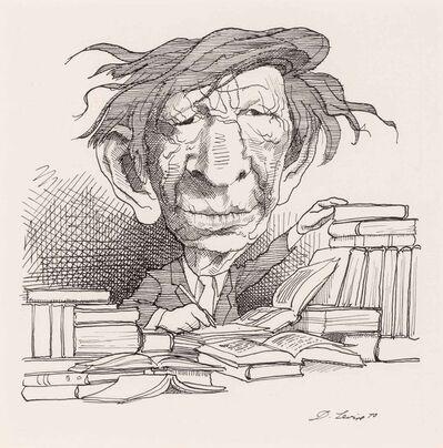 David Levine, 'W.H. Auden', 1970