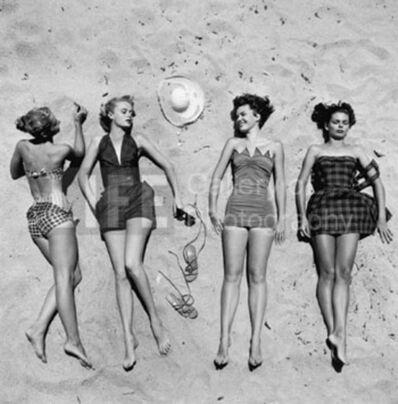 Nina Leen, 'Beach Fashions', 1950
