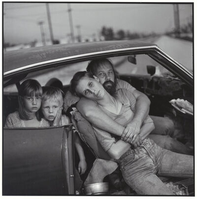 Mary Ellen Mark, 'The Damm Family in their car', 1987