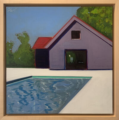 Melissa Chandon, 'Cottage with Red Roof', 2021