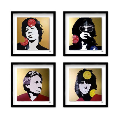 Keith Haynes, 'Rolling Stones - Mick, Keef, Charlie & Ronnie', 2019