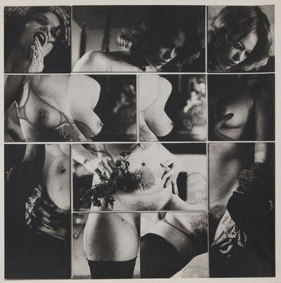 Robert Heinecken, 'Cliche Vary / Autoeroticism Variation, 1/2', 1974