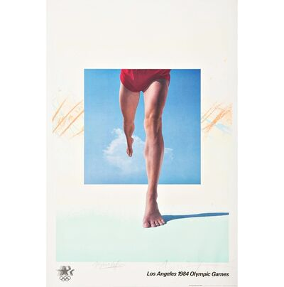 April Greiman, 'Los Angeles 1984 Olympic Games (Hand Signed with Signed, Embossed Olympic Committee COA)', 1982