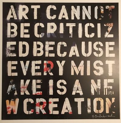 "Mr. Brainwash, '""Retrospect"" Hand Signed ', 2010"