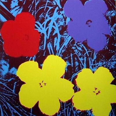Andy Warhol, 'Flowers VIII', 1970