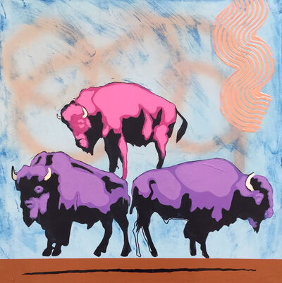 Frank Buffalo Hyde, 'Food Pyramid', 2015
