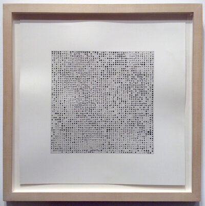 Teo Gonzalez, '2500 Drops of Ink #4', 1995