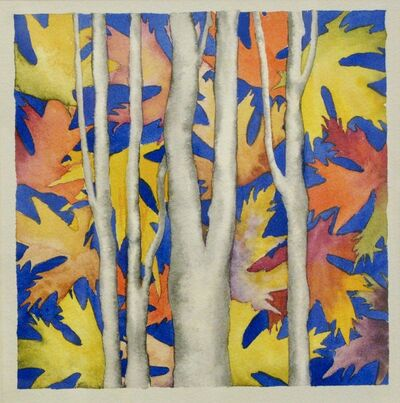 Dennis Barna, 'Birches', 2015