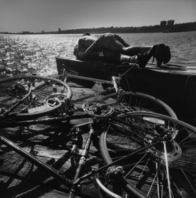 Arthur Tress, 'Bike Lovers, NY', 1978