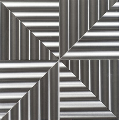 Getulio Alviani, 'Superficie a testura vibratile', 1972